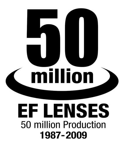 Canon 50 million mark