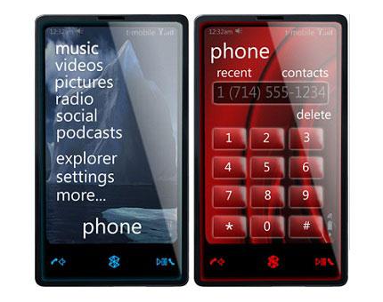 Microsoft ZUNE phone