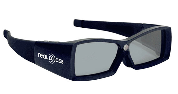 Real-D glasses