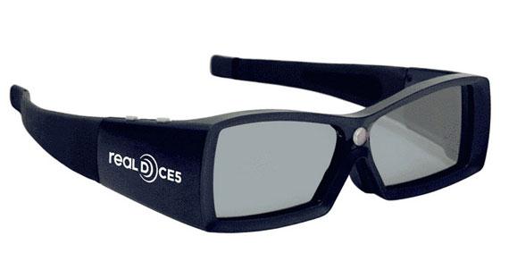 Real-D glasses