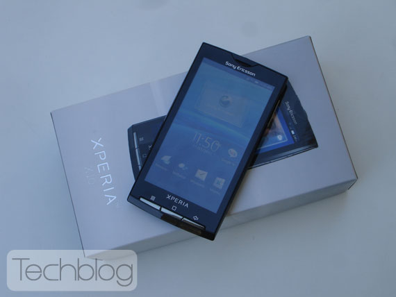 Sony Ericsson XPRERIA X10i box