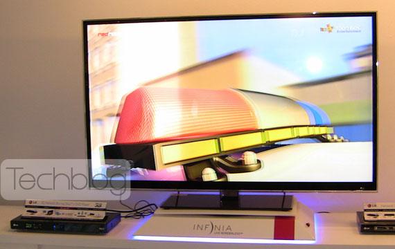 LG 55LX9500 3D TV