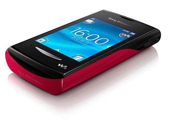 Sony Ericsson Yendo Red