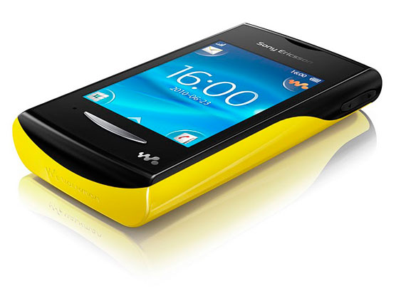 Sony Ericsson Yendo Yellow
