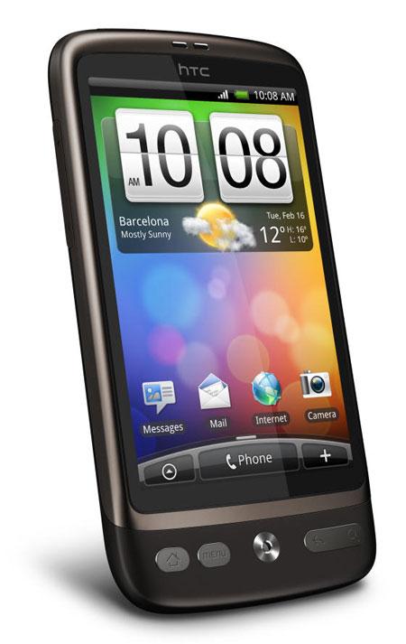 HTC Desire huge