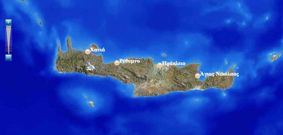 umap.gr Crete island