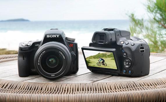 Sony Alpha A55 A33