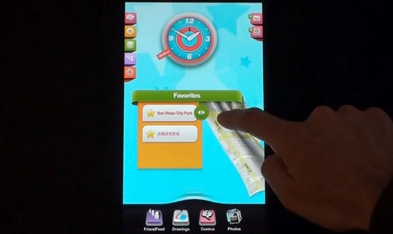 tat concept ui for meego tablets