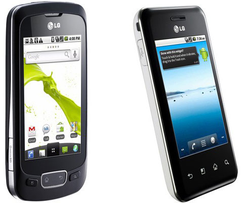 LG Optimus One and Optimus Chic