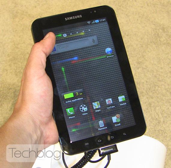 Samsung Galaxy Tab Techblog.gr