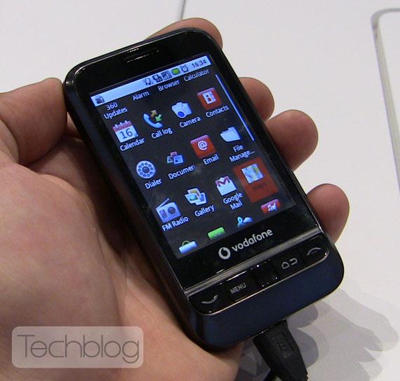 Vodafone 845 με android 2.1 βίντεο παρουσίαση