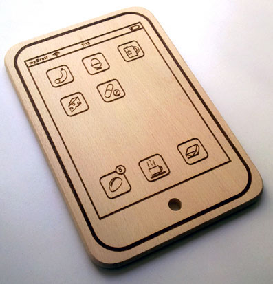 iPad Cutting Board