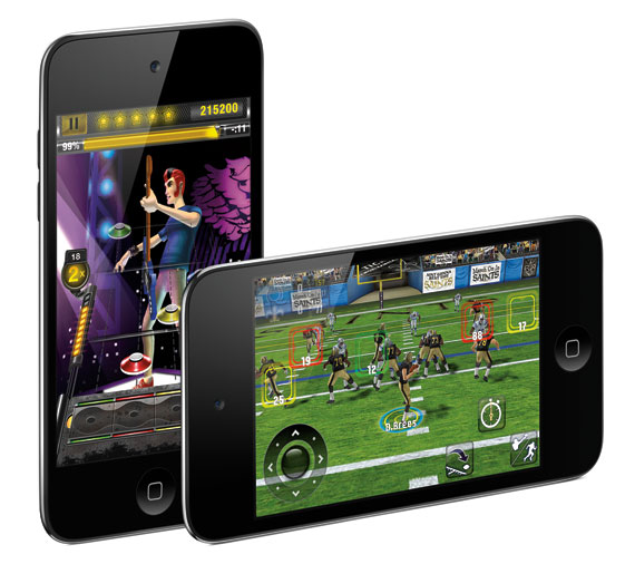 new ipod touch 2010 games