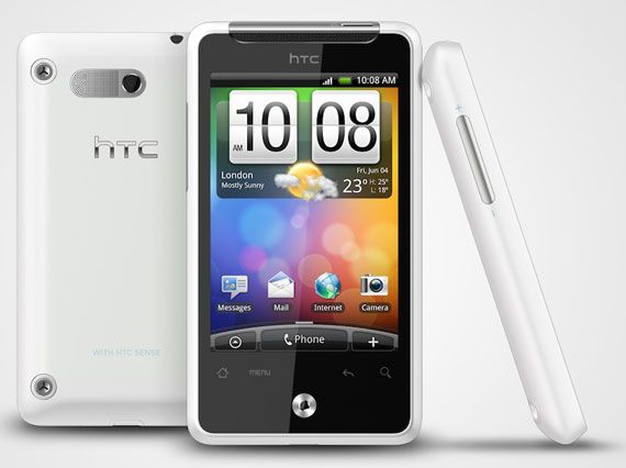 HTC Gratia pearl white