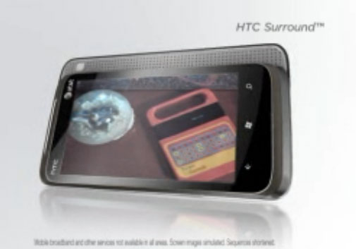 HTC Surround Windows Phone 7