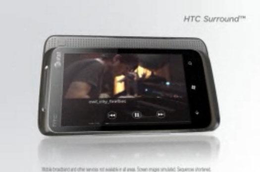 HTC Surround Windows Phone 7