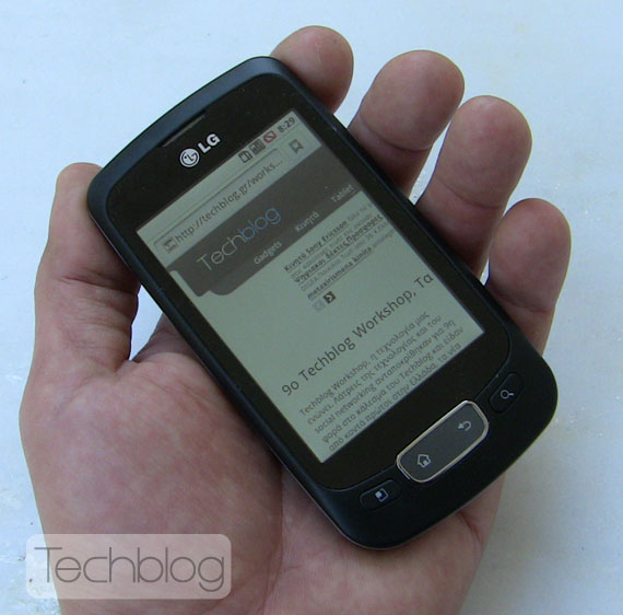 LG Optimus One P500 Techblog.gr