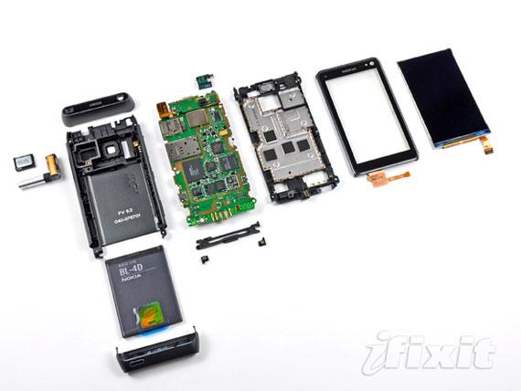 Nokia N8 teardown