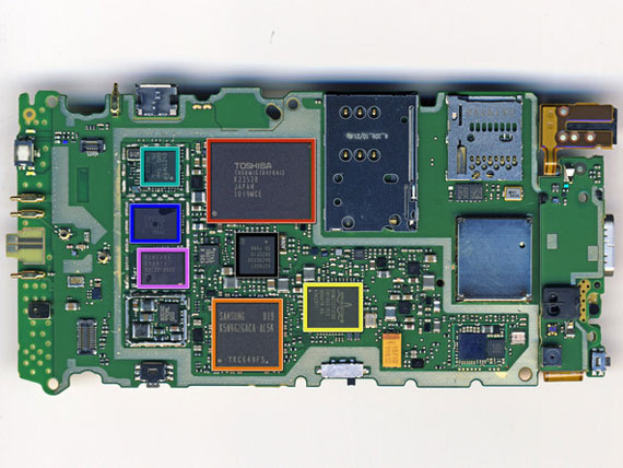Nokia N8 teardown