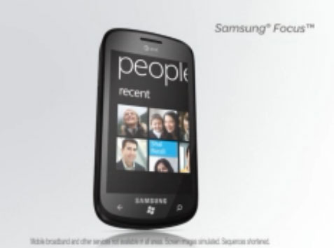 Samsung Focus Windows Phone 7