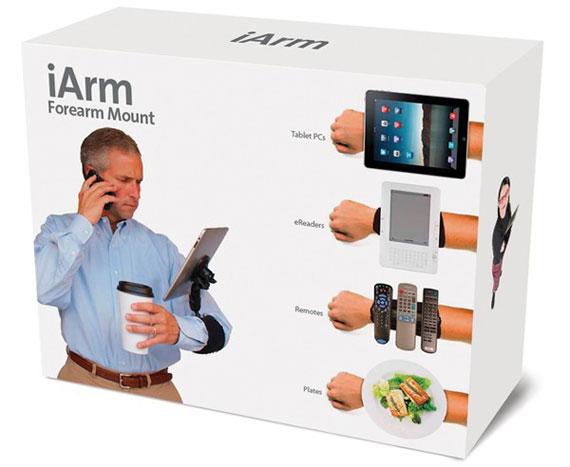 iArm prankpack box