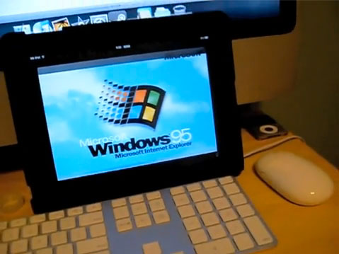 iPad Windows 95