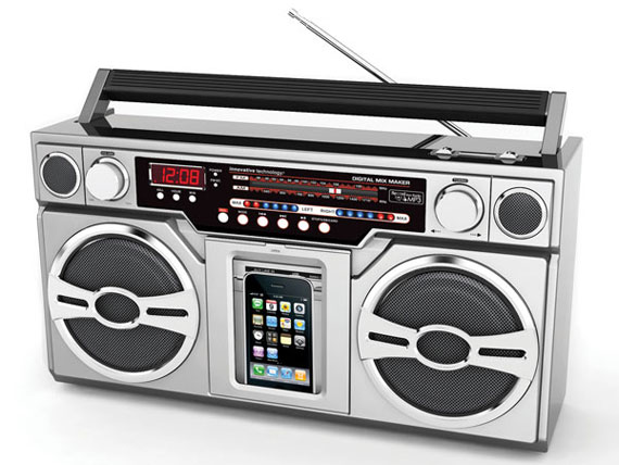 BoomBox portable media player