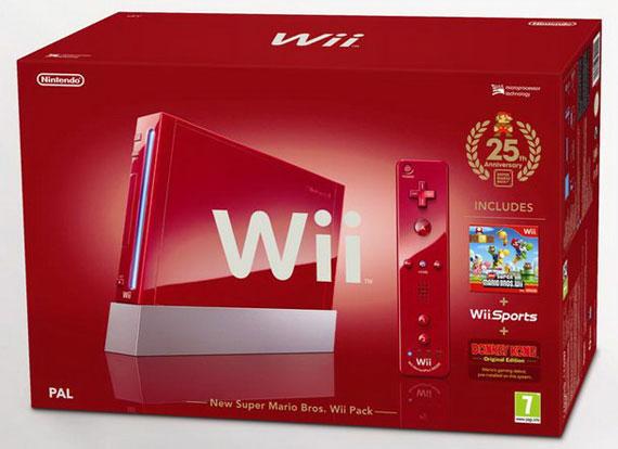 super mario bros Nintendo wii pack