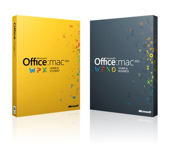 Microsoft Office for Mac 2011 box