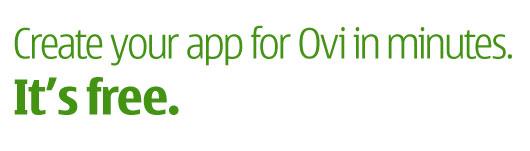 Nokia Ovi App Wizard