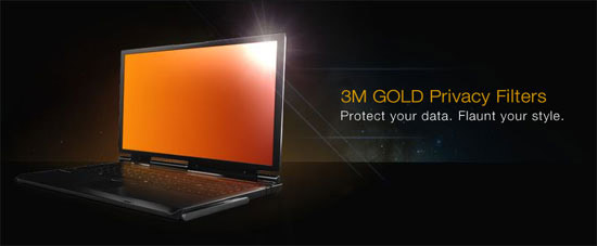 3M Gold Privacy Filter
