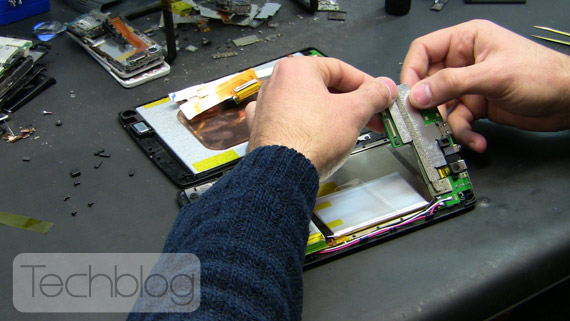 Archos 70 teardown Techblog.gr