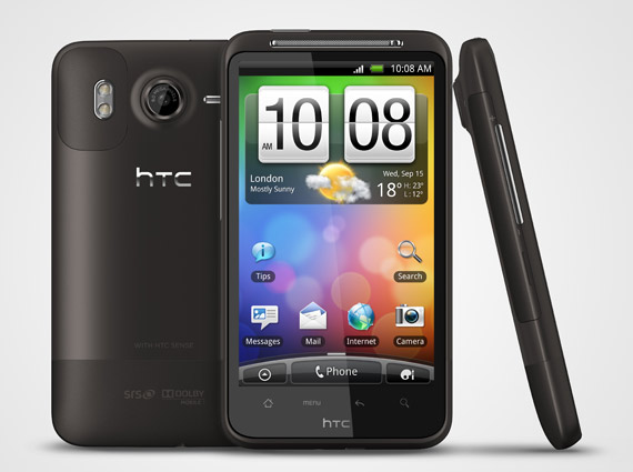 HTC Desire HD Android 2.3 Gingerbread