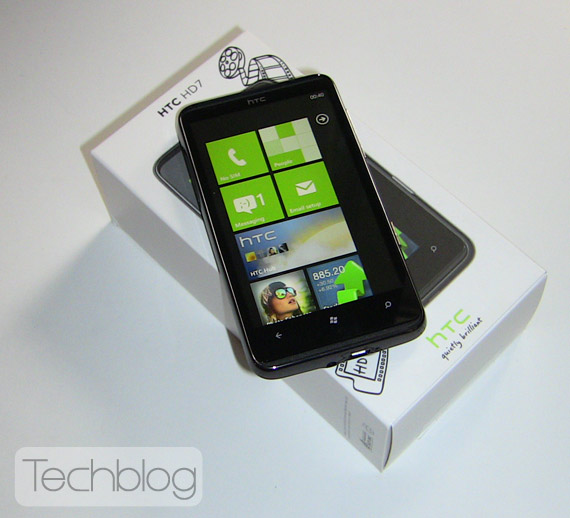 HTC HD unboxing Techblog.gr