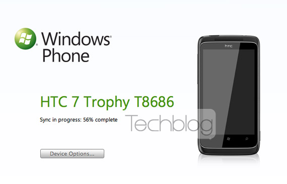 HTC Trophy Windows Phone Connector