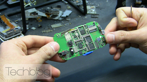 Huawei Ideos teardown Techblog.gr