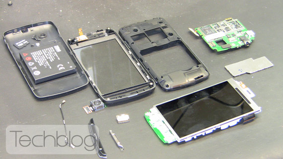 ZTE Blade Teardown Techblog.gr