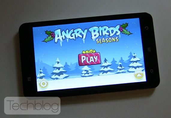 ZTE V9 Angry Birds Seasons Techblog.gr