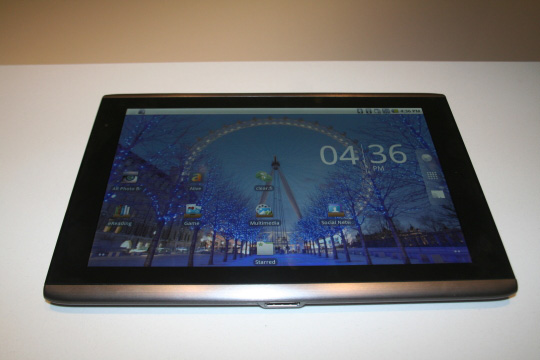 Acer Iconis A500 tablet