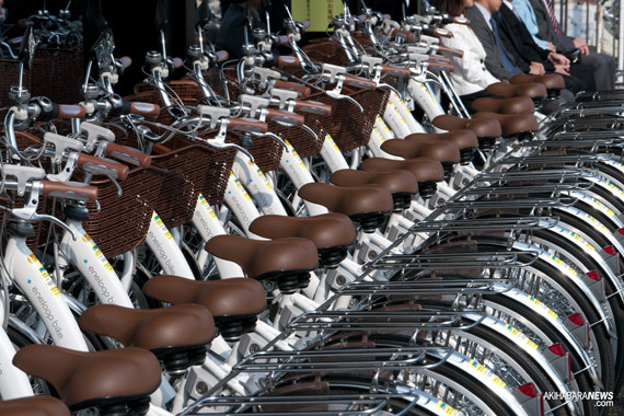 DoCoMo rent a bike