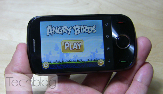 Huawei Ideos Angry Birds