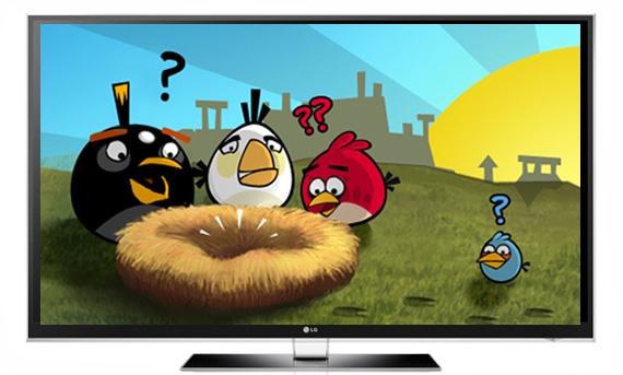 LG LX9500 Angry birds
