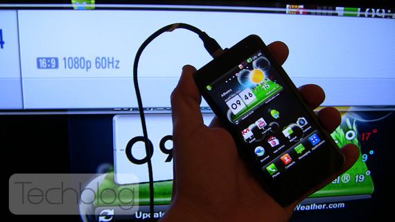 LG Optimus 2X HDMI out 1080p
