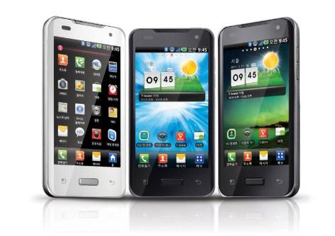 LG Optimus 2X white