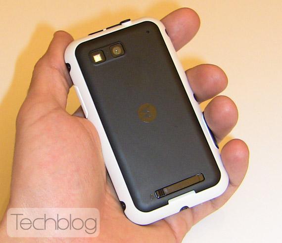 Motorola Defy hands on Techblog.gr