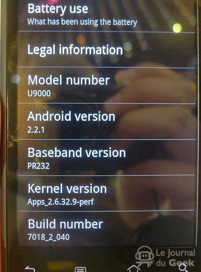 Huawei U9000