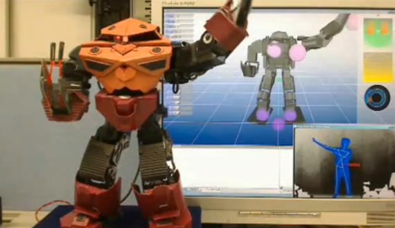 kinect hacks you robot