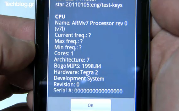 LG optimus 2x quadrant benchmark results