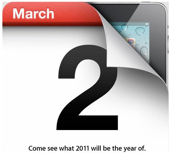 Apple event iPad2