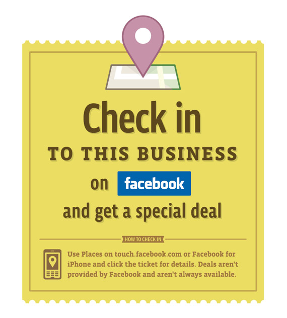 Facebook Places check-in
